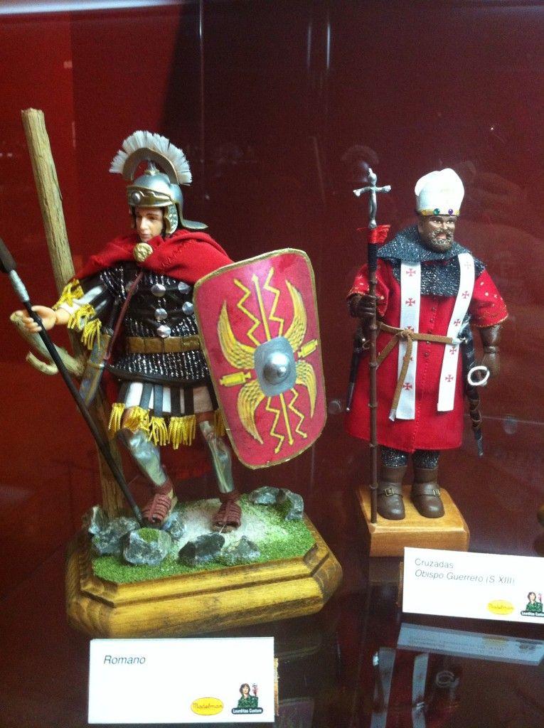 Madelman romano y obispo