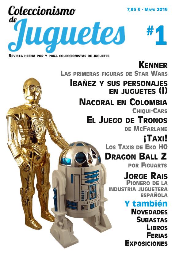 revista coleccionismo de juguetes nº1