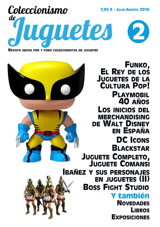 revista coleccionismo de juguetes nº2