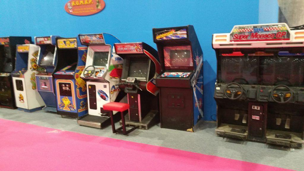 arcades en retroworld