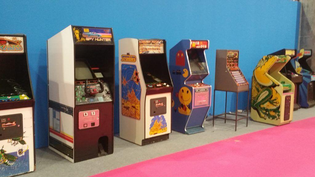 Maquinas arcade en MGE