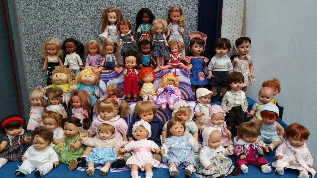 muñecas nancy y mariquita perez