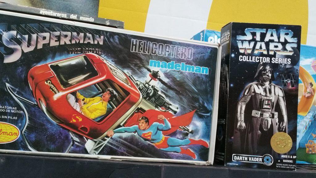 madelman superman en caja