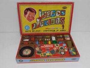 """Contenido de la caja """"Juegos reunidos"""" de Geyper"""
