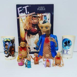 Figuras de E.T. el extraterrestre
