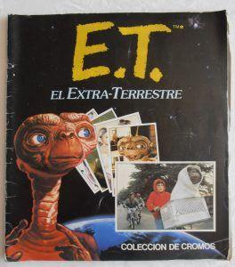 Album de cromos de E.T.