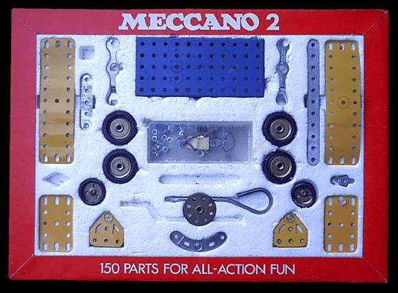 Meccano JUGUETES AÑOS 70