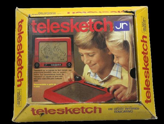 Telesketch JUGUETES AÑOS 70