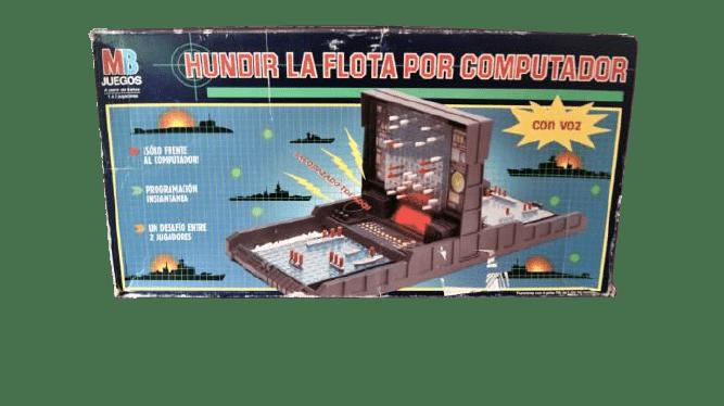 juguetes de3 los 80 hundir la flota computador