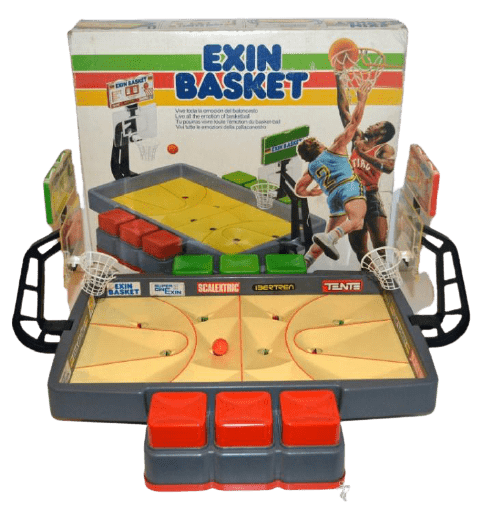 JUGUETES DE LOS 80 exin basket