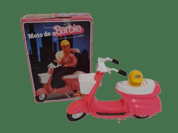 barbie vespa años 70