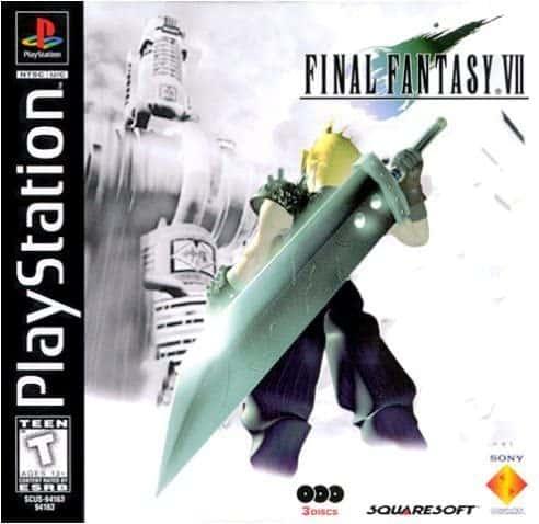 final fantasy 7 VIDEOJUEGOS DE LOS 90