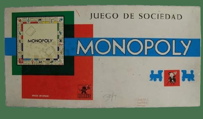 JUEGOS DE MESA DE LOS 70,80 Y 90 monopoly