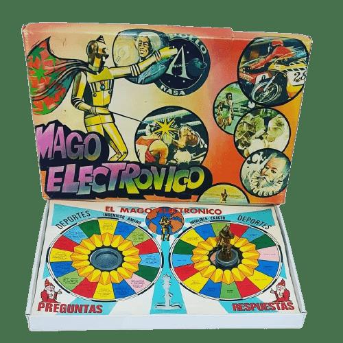 el mago electronico JUEGOS DE MESA DE LOS 70,80 Y 90